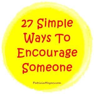 Encourage, Encouragement